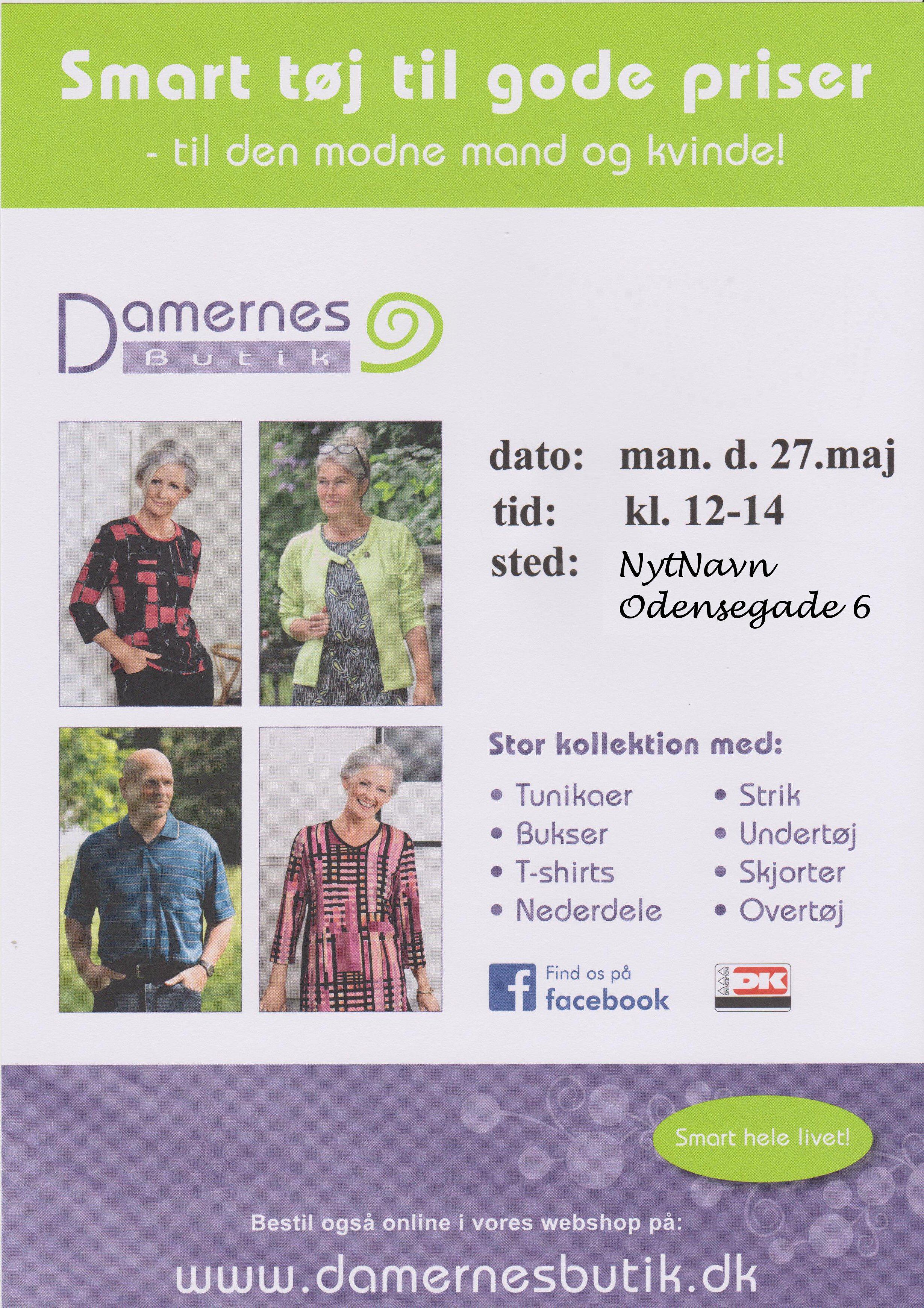 27/5 Damernes butik @ Nabo Østerbro, NytNavn