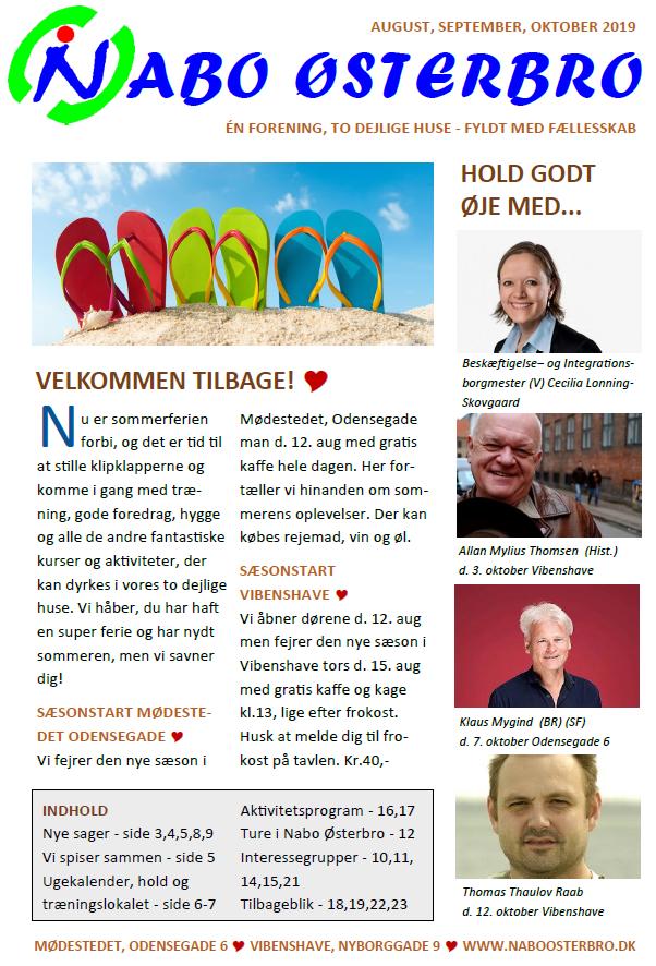 Billede af forsiden af bladet
