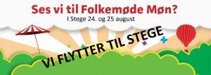 Lørdag 25/8 Folkemøde på Møn @ Østerport st.