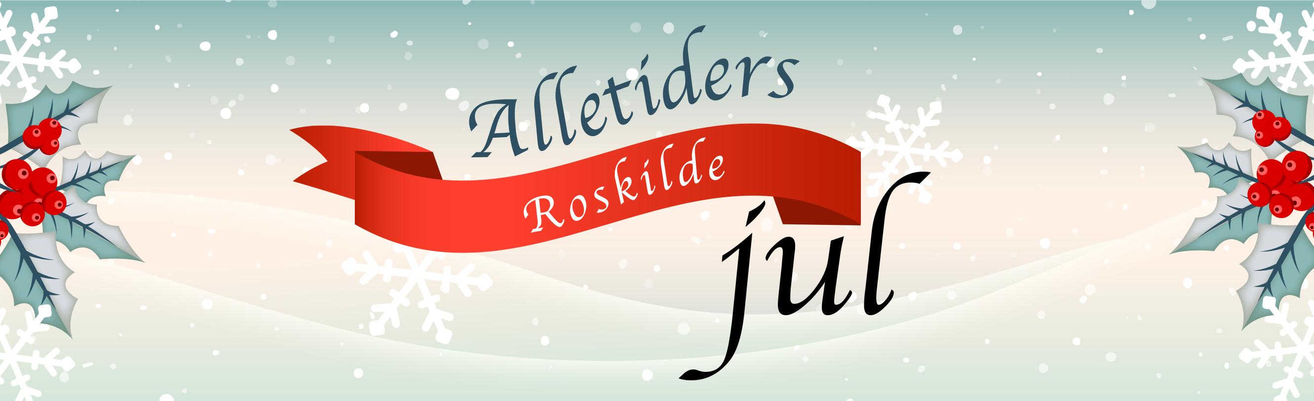 Lørdag 24/11 kl.10:10 Alletiders RoskildeJul @ Østerport st. v/Irma